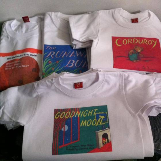 WE ARE READERS shirts